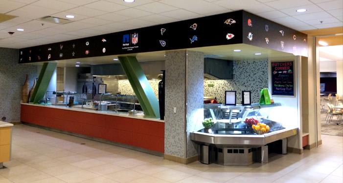 NetApp NFL Cafeteria Line Image