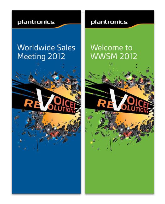 "Plantronics WWSM 36\""x96\"" Banners"