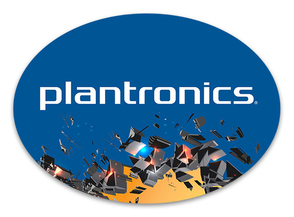 Plantronics WWSM Podium Plaque