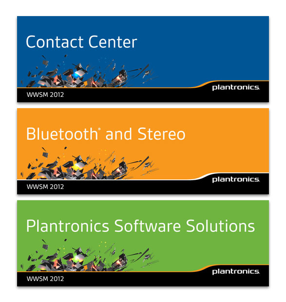 Plantronics WWSM Table Top Signs