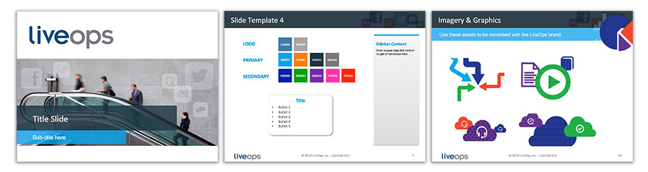 LiveOps PowerPoint Presentation Template