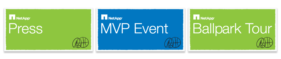 NetApp AT&T Event Hand Held Signs