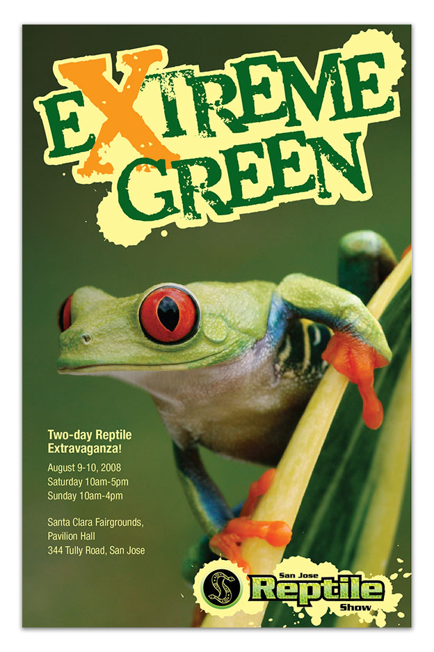 SJRS Extreme Green Poster