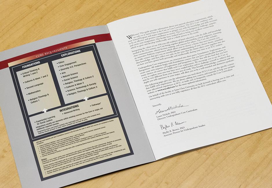 Santa Clara University 2015-16 Undergraduate Bulletin Guide