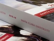 SCU 2015-16 Undergraduate Bulletin Thumbnail