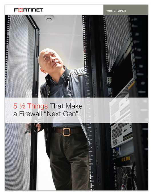 Fortinet 5.5 Traits White Paper