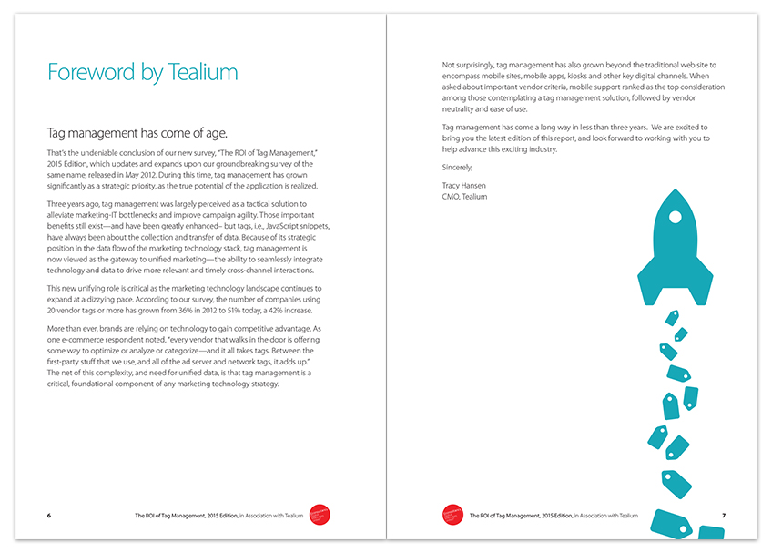 Tealium ROI of Tag Management Report