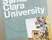 SCU Family Weekend Mailer Thumbnail
