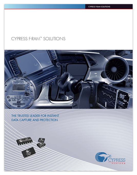 Cypress F-RAM Brochure