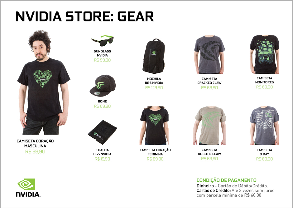 NVIDIA Store A4 Pricing Sheet with Guy