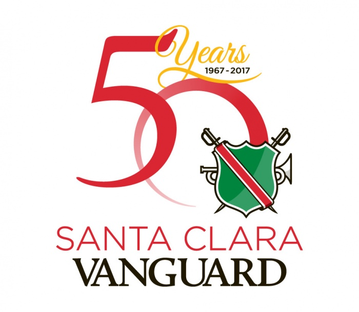 Santa Clara Vanguard 50th Anniversary Logo