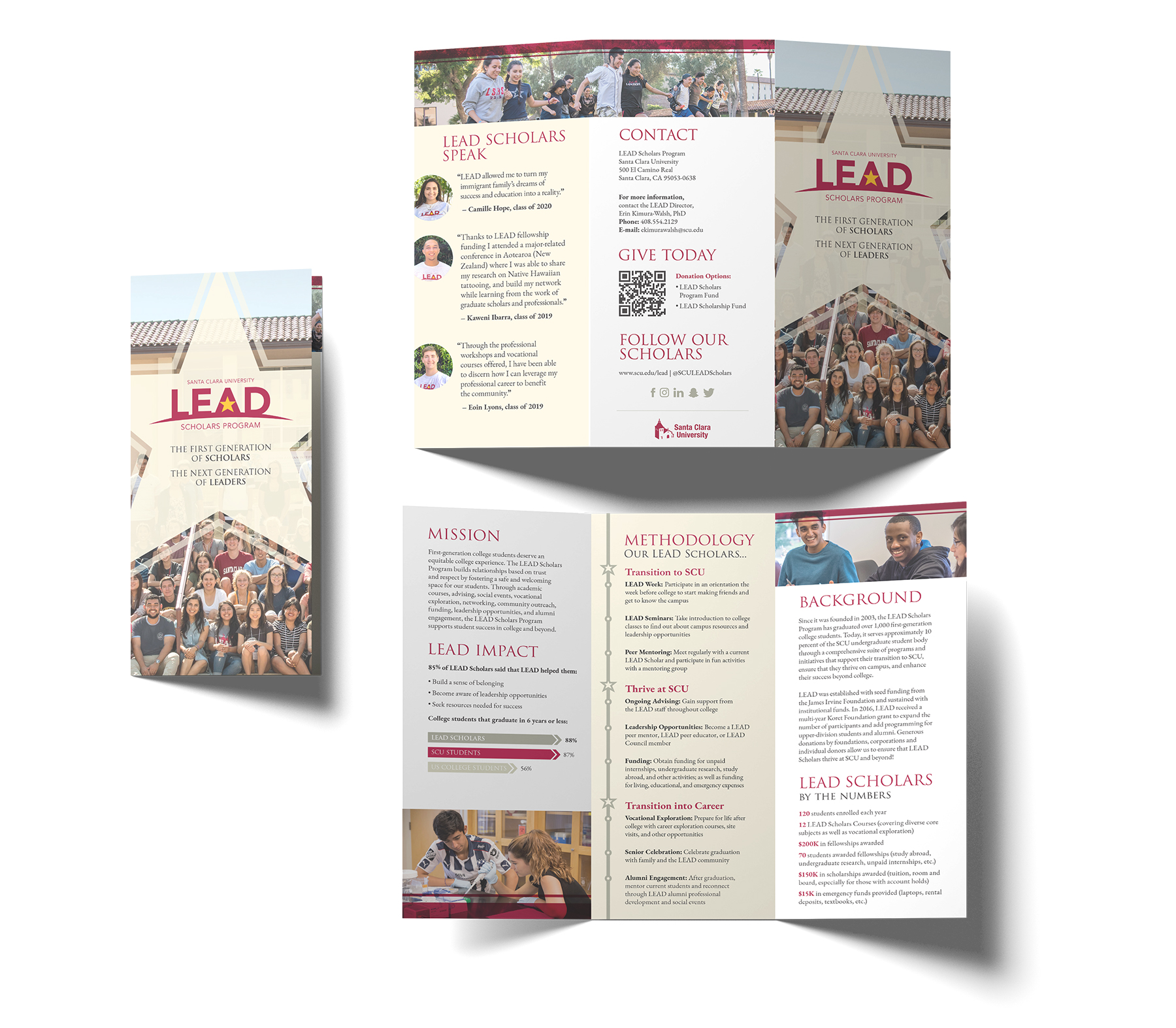 SCU LEAD Donor Brochure