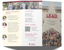 SCU LEAD Donor Brochure Thumbnail