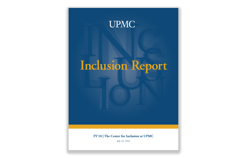 UPMC Annual Report Cover
