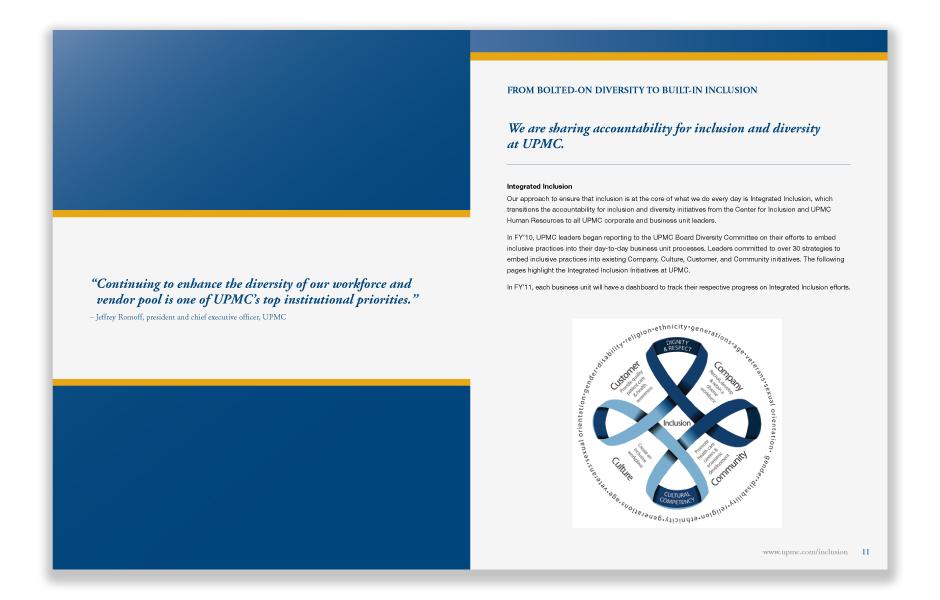 UPMC Annual Report Spread 1