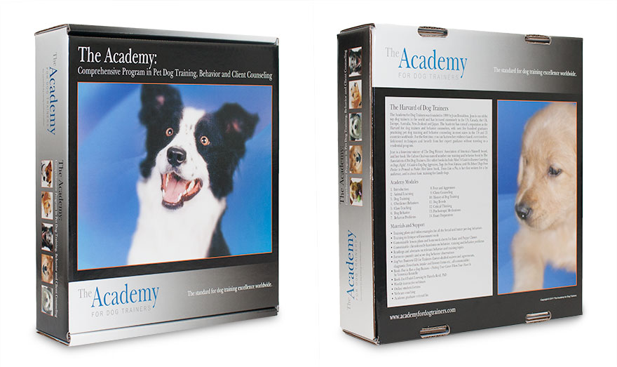 Academy for Dog Trainers Packaging