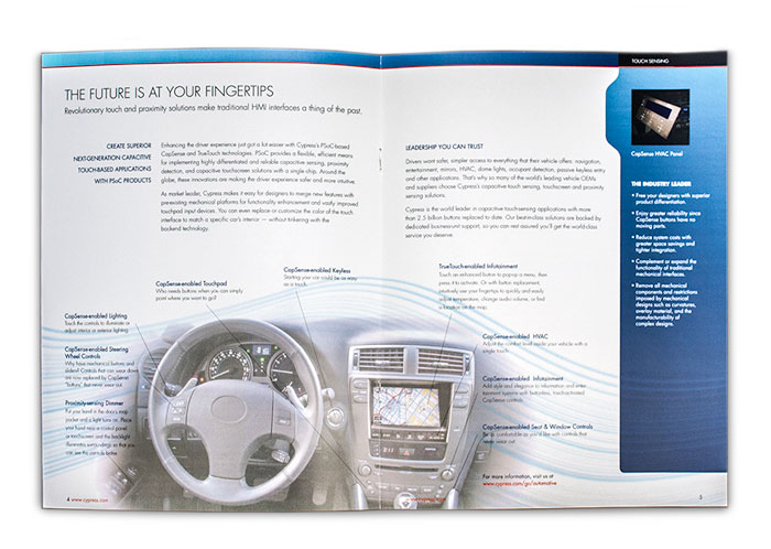 Cypress Automotive Solutions Brochure Spread 2