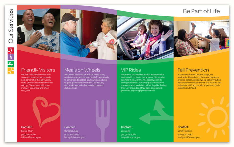 LIFE ElderCare Program Brochure Inside Spread