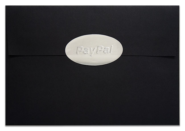 PayPal Transformers Envelope