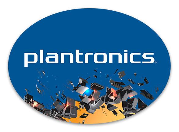 Plantronics WWSM Podium Plaque