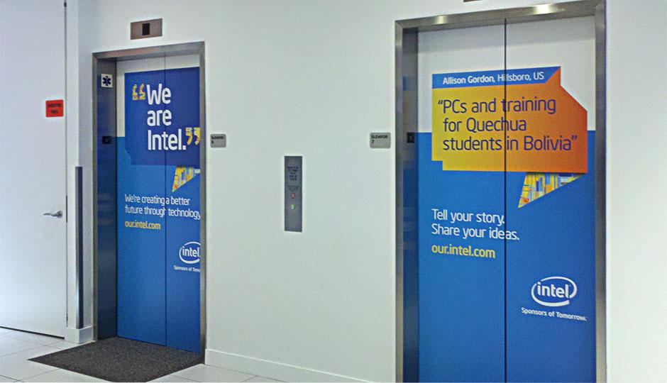 Intel Elevator Wraps