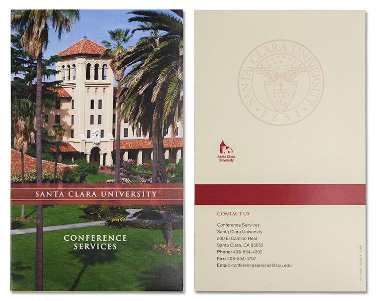 SCU Conference Guide front and back.