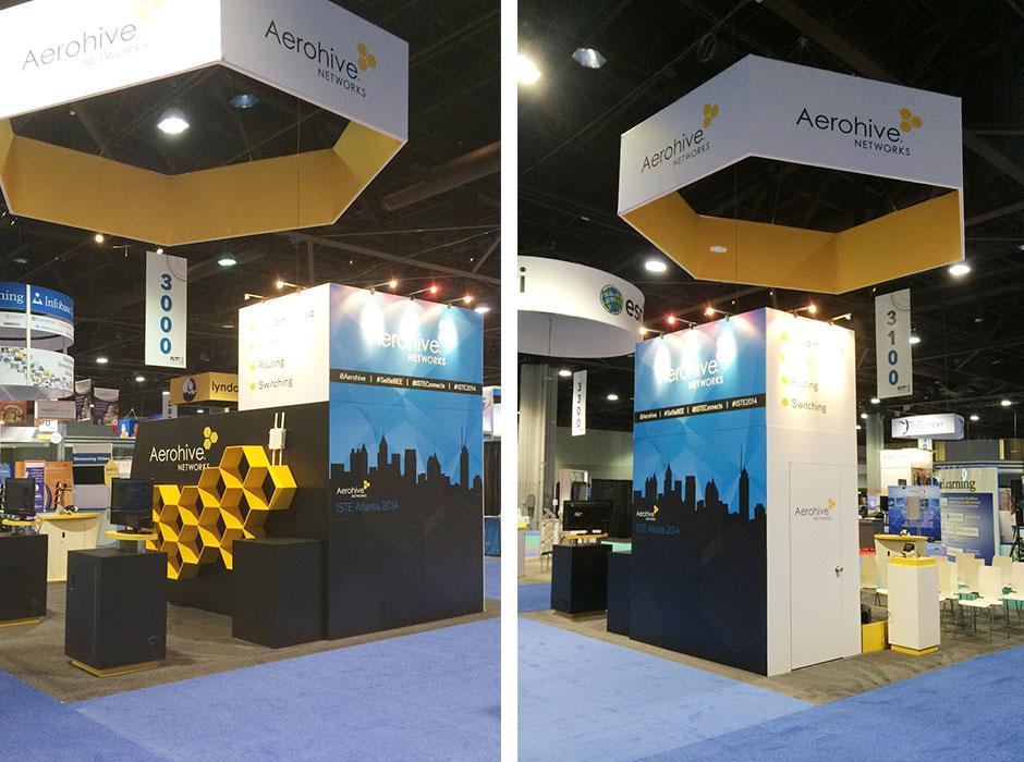 Aerohive ISTE Atlanta 2014 Booth