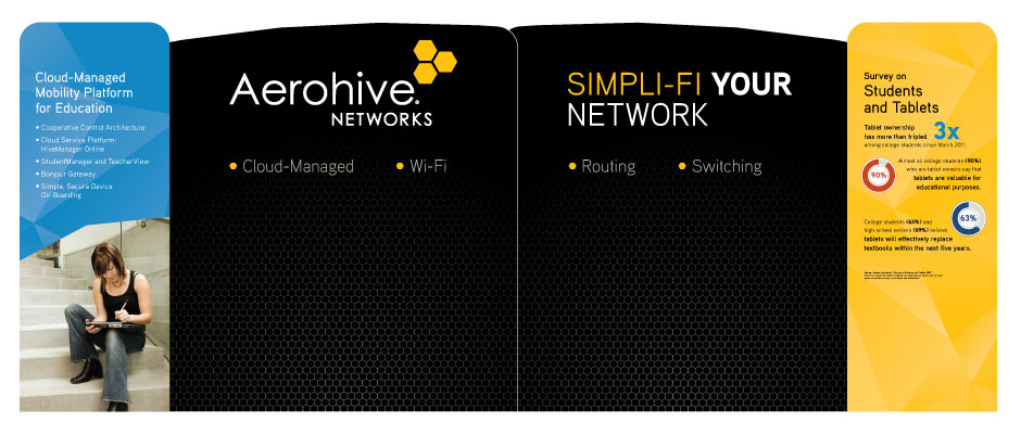 Aerohive Educause 10x20 Booth