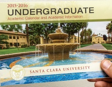 SCU 2015-16 Undergraduate Academic Calendar Thumbnail