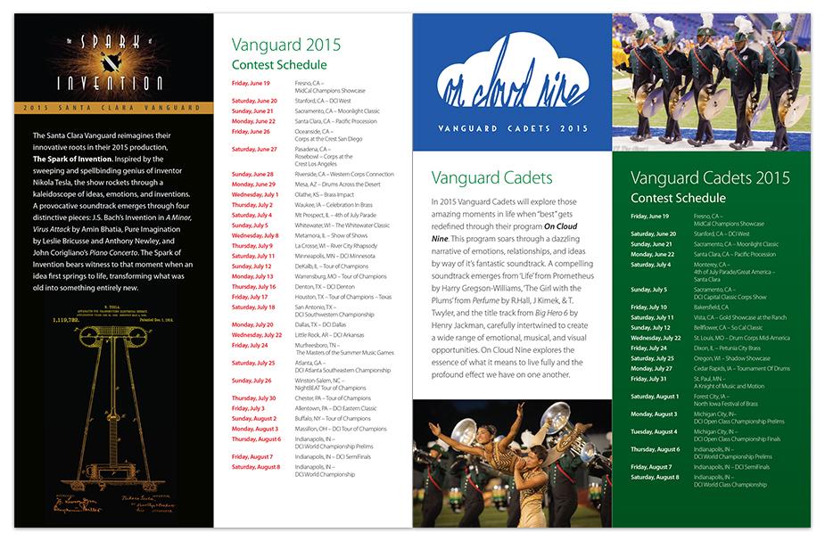 Santa Clara Vanguard 2015 Spring Newsletter