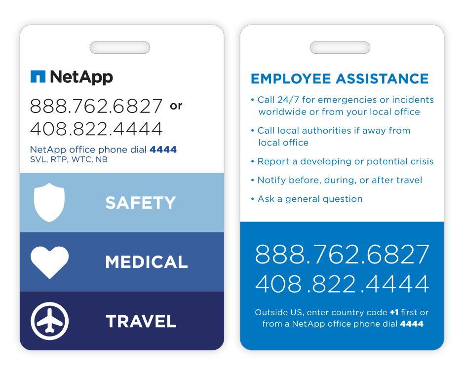 NetApp Security Badge