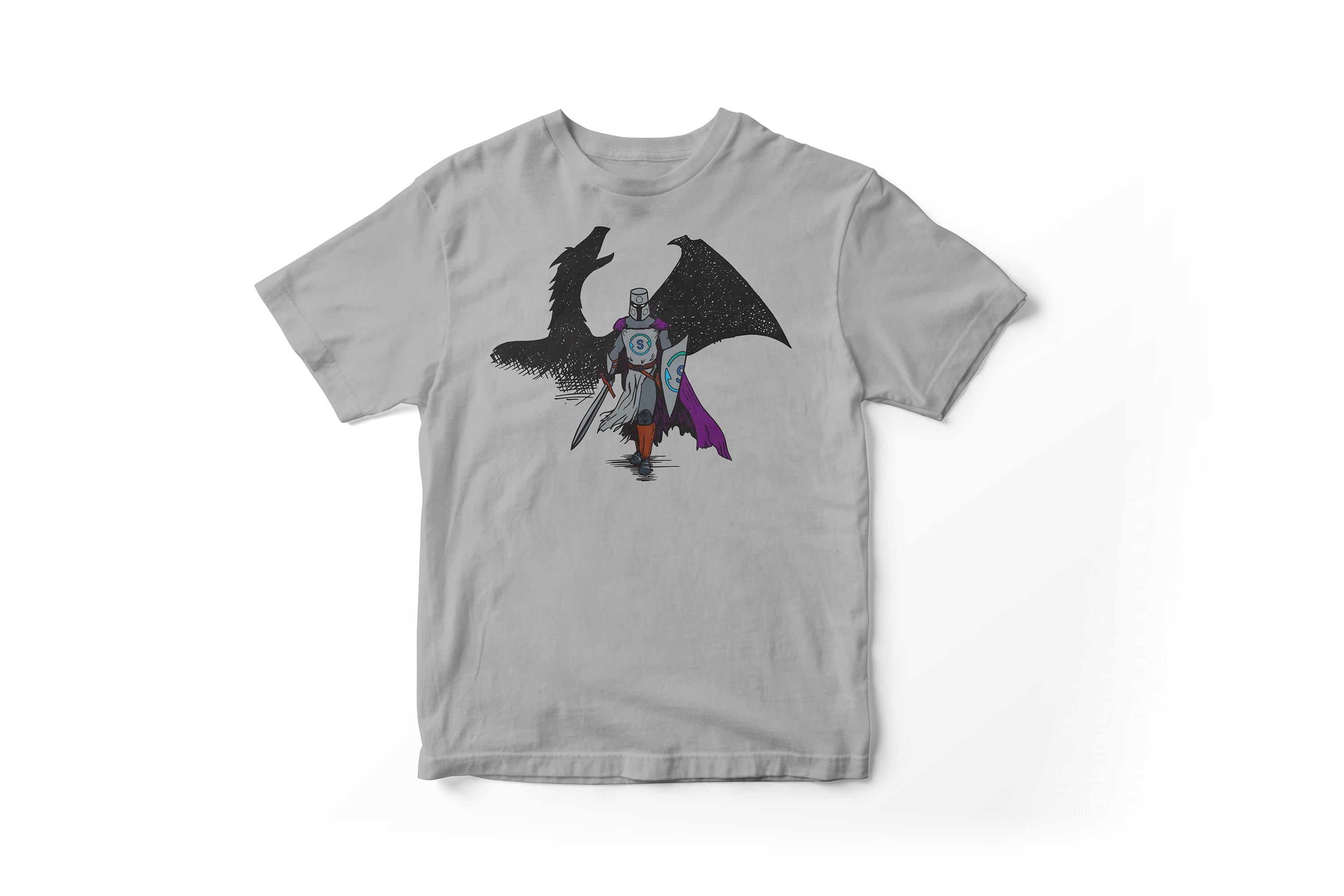 Spirent Knight and Dragon T-Shirt
