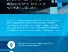 NetApp Healthcare IDC Infographic Thumbnail